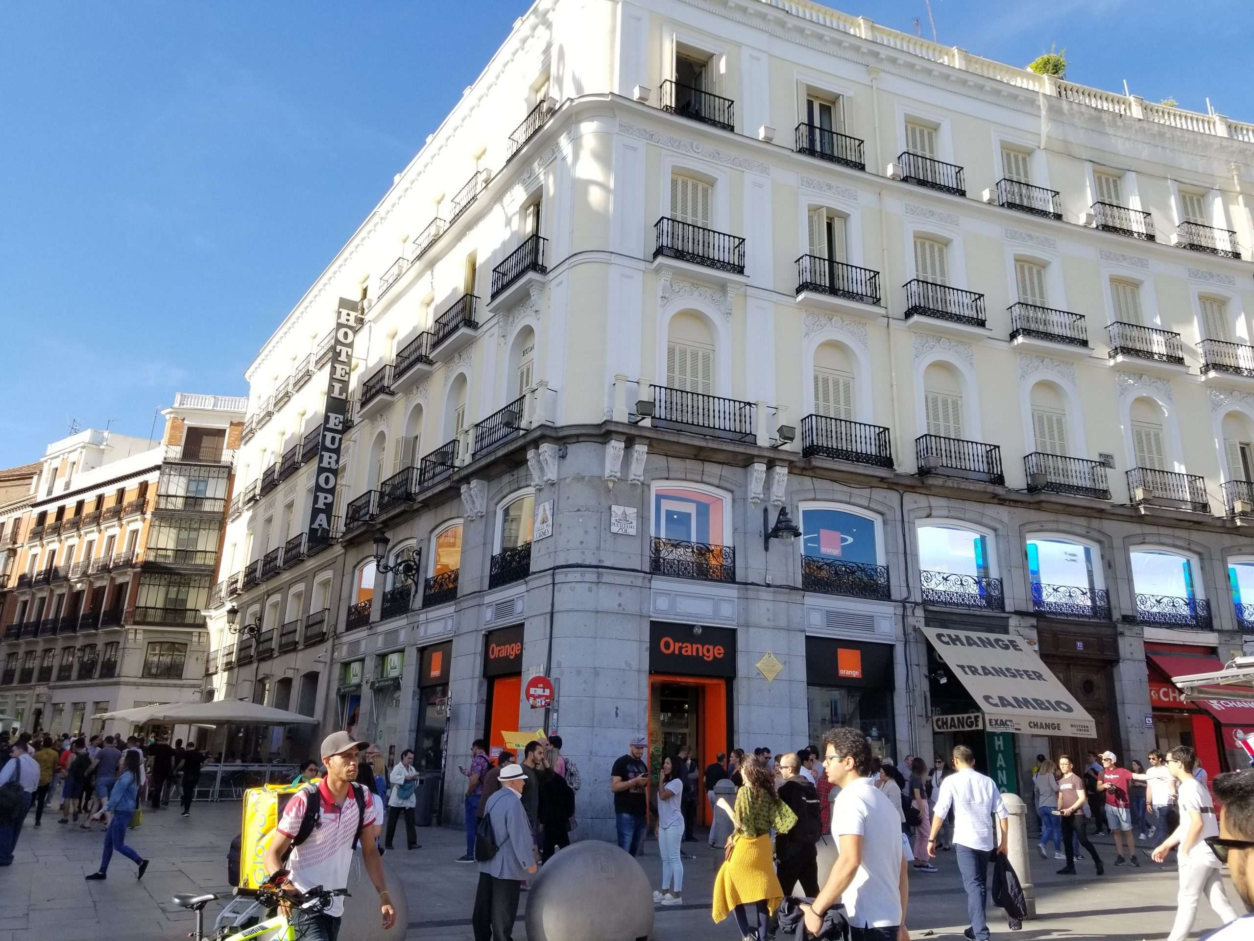 Hotel Europa, Madrid
