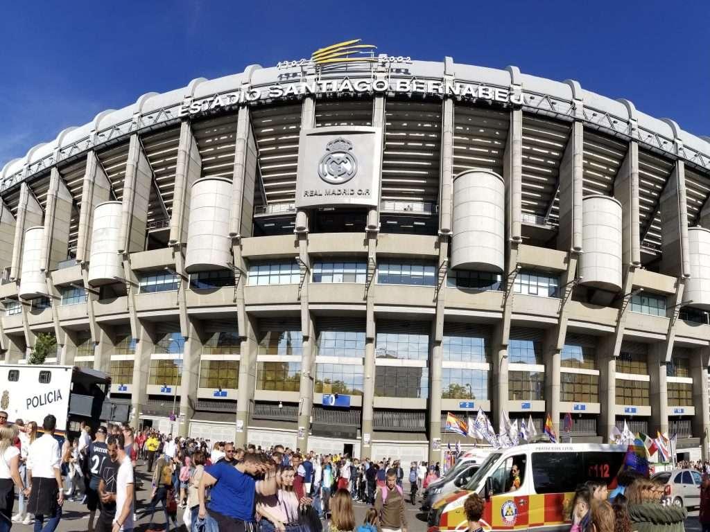 Bernabéu Stadium, Madrid